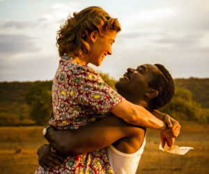 "Rosamund Pike and David Oyelowo star in ""A United Kingdom."""