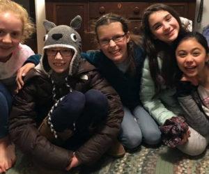 From left: Skyler Houghton, Alice Skiff, Clara Goltz, Casey Nelson, and Sonny Cumming.