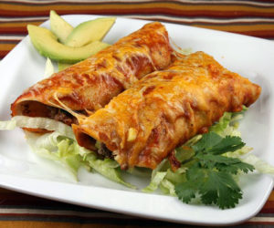 Enchiladas are on the menu at St. Giles' Episcopal Church's free supper on Saturday, March 11.