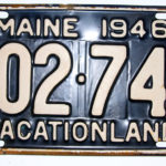 Illustrated Talk on License Plates in Boothbay