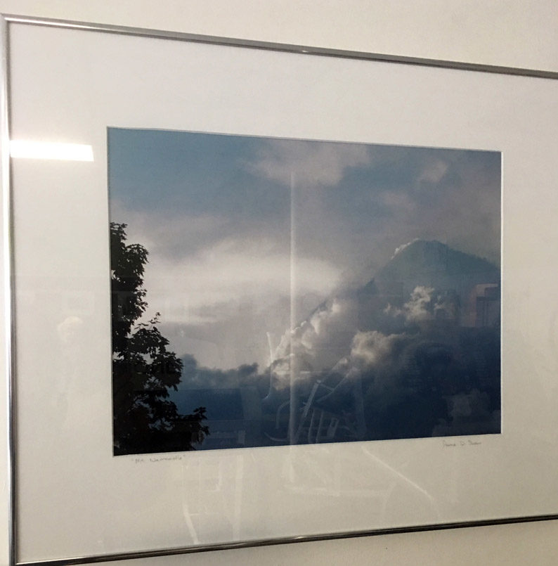 """""""Mt. Newcastle"""" is Anna Shaw's magical photograph of a cloud formation that looks just like a mountain. (Christine LaPado-Breglia photo)"""