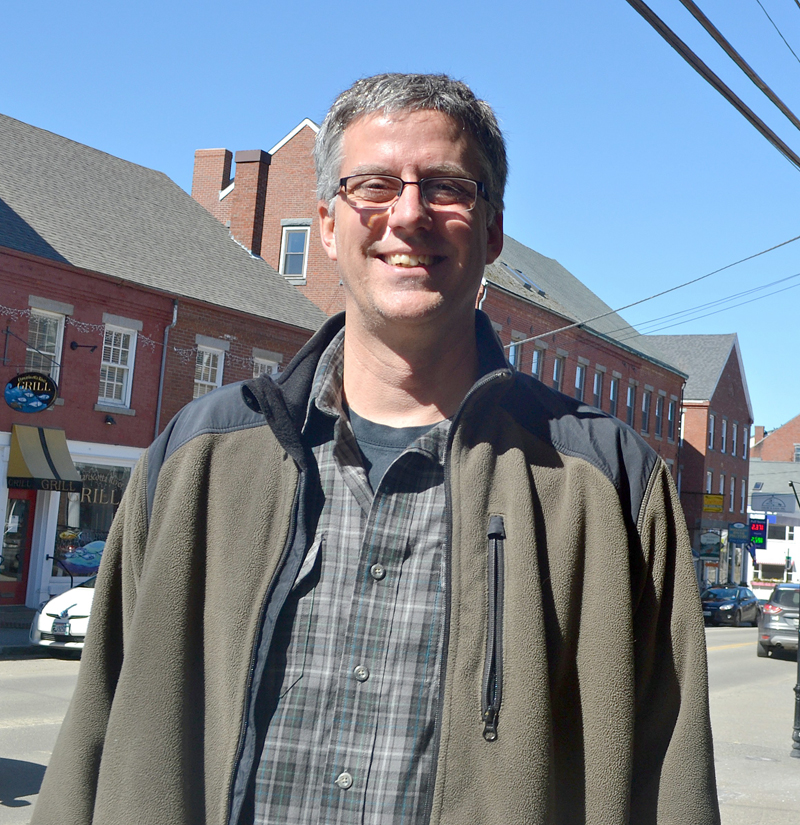 Phil Nicewonger, pastor of youth and Christian education at the First Baptist Church of Waldoboro, is leading an effort to establish a new church in downtown Damariscotta.