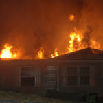 Jefferson Home Struck Twice in One Day by Fire