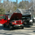 No Serious Injuries in Crash at Eagle's Nest
