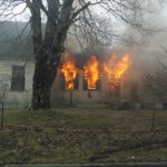 Fire Damages Mid-1800s Whitefield Home