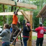 Timber-Frame Construction Workshops at HVNC