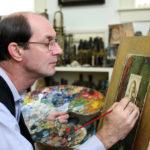 Artist John Whalley at Next Chats Talk