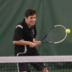 LA boys tennis pick up first win