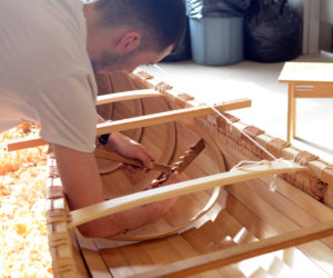 Maliseet Launching Ceremony for Handmade Wabanaki Canoe