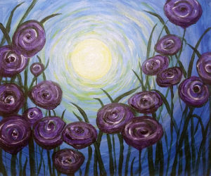 Libbie Winslow will guide an acrylic Paint Night in Waldoboro on Thursday, April 27 starting at 6:30 pm.