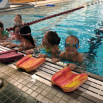 NCS Students Learn Swimming Skills