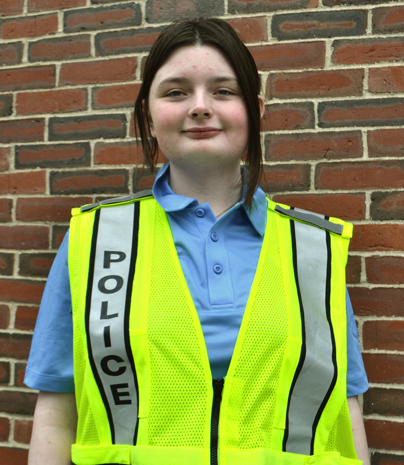 Margaret Graham, of Edgecomb, has joined the Damariscotta Police Department as a parking enforcement officer. (Maia Zewert photo)