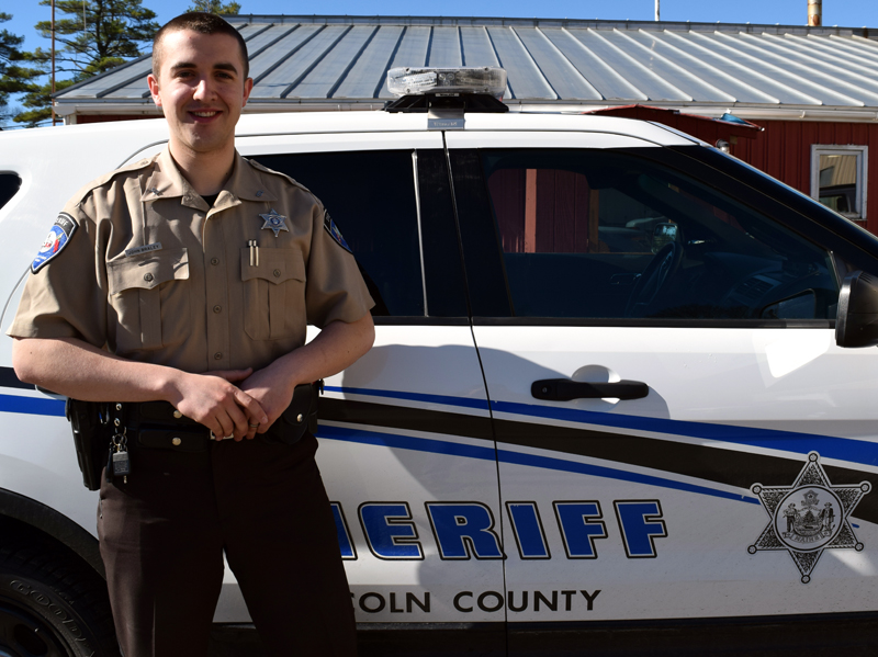 Lincoln County Sheriff's Deputy John Braley. (J.W. Oliver photo)