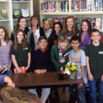 NCS Students Meet National Book Award Winner