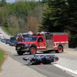 Warren Motorcyclist Sustains Serious Injuries in Nobleboro Crash