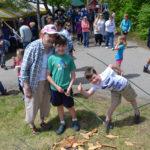 Fish Ladder Restoration Festival Draws Large Crowds