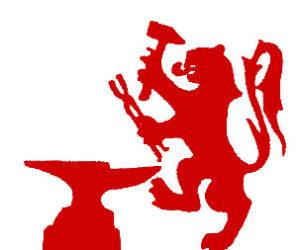 Scottish Lion Wrought Iron