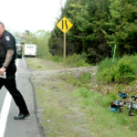 Truck's Mirror Strikes Bicyclist on Route 1 in Waldoboro