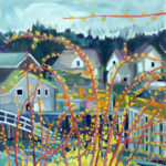 Susan Bartlett Rice 'Becoming Summer' Exhibit at Savory Maine