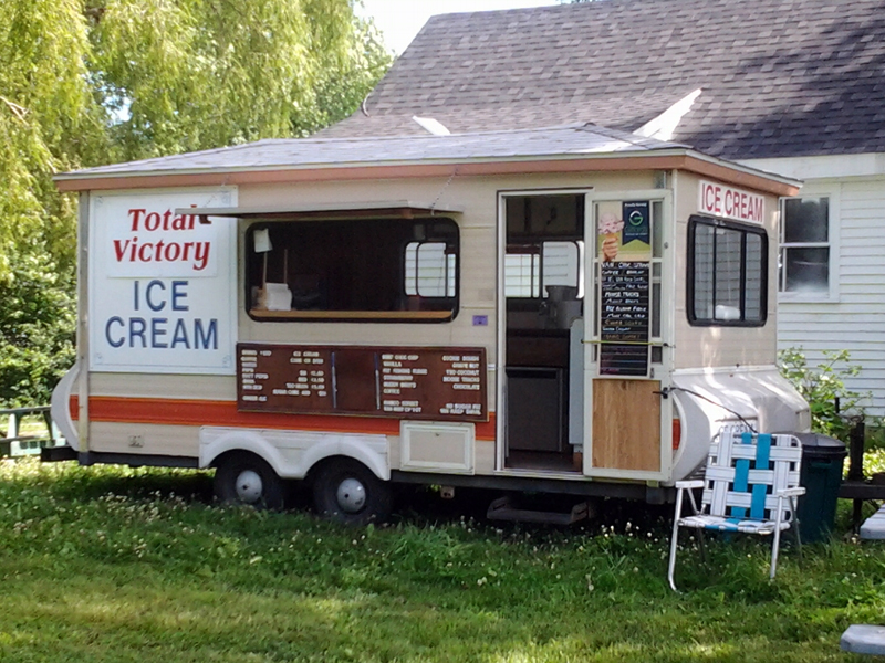 Total Victory Ice Cream in Waldoboro will be dispensing free ice cream to all military personnel and veterans on Memorial Day weekend.