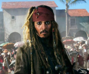 "Johnny Depp returns to the big screen as the iconic, swashbuckling anti-hero Jack Sparrow in ""Pirates of the Caribbean: Dead Men Tell No Tales,"" playing this week at The Harbor Theatre, Boothbay Harbor."