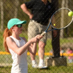 Waterville hands LA girls tennis second loss of season