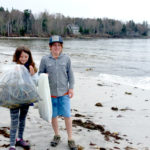 Montessori Student Service Project at Pemaquid Beach
