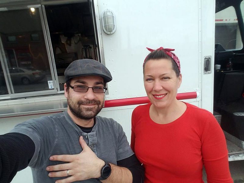 Colin Frey and Dawn McKenna Frey, of Burgers & Freys.