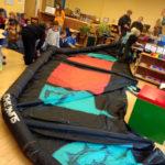 Professional Kiteboarder Visits Damariscotta Montessori