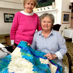 'Wacky Cabin' Lap Quilt Featured at Waldoboro Raffle