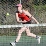 Boothbay girls tennis clip Wiscasset