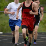Lots of Gold and plenty of ribbons for Wiscasset and Boothbay at MVC track championships