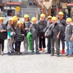 Wiscasset STEM Students Visit Crooker Construction