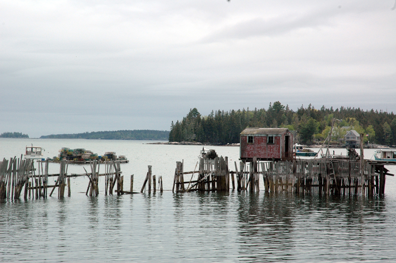 Community Shellfish LLC owner Boe Marsh hopes to repurpose this lobster pound as a space for aquaculture, particularly for the growth and harvesting of oysters and clams. (Alexander Violo photo)