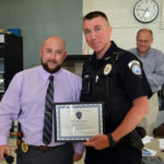Damariscotta Recognizes Police Officer, Outgoing Selectman at Town Meeting