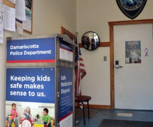 Damariscotta PD Installs Medication Disposal Unit