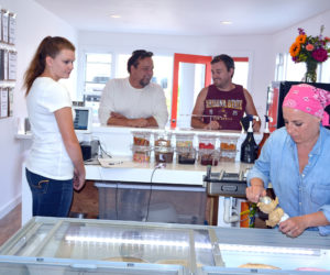 New Ice Cream Shop Opens in Downtown Damariscotta