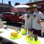 Local Teens Launch Lemonade Stand in Damariscotta