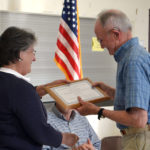 Damariscotta Honors Riverside Park Volunteers with Spirit of America Award