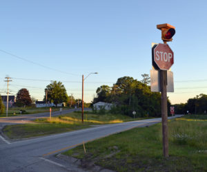 Flashing Light at Route 1 Intersection Part of Damariscotta Safety Audit