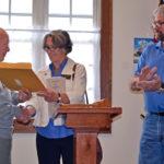 Dresden Resident Receives Award, Legislative Sentiment