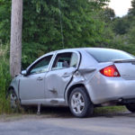 Driver Runs Stop Sign, Strikes Truck in Waldoboro
