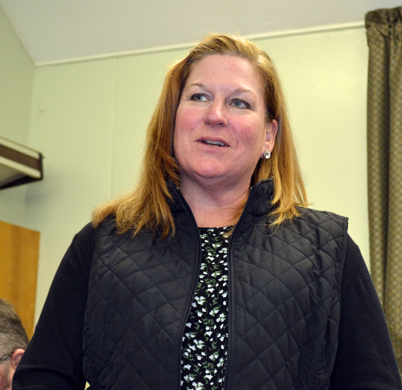 Lisa Thompson was named the new director of the Wiscasset Parks and Recreation Department during a Wiscasset Board of Selectmen meeting Tuesday, June 6. (Abigail Adams photo)