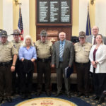 Sheriff's Deputy Recognized Before Maine Senate