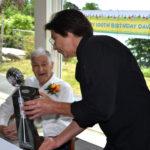 David Van Strien Celebrates 100th Birthday