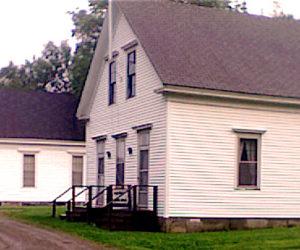 St. Paul's Union Chapel and Dutch Neck Schoolhouse.