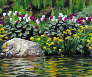 """Spring Tulips,"" an oil painting on canvas by Will Kefauver."