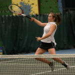Lincoln girls tennis send Tigers packing