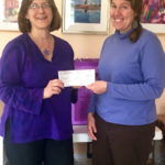 New Hope for Women Receives Check