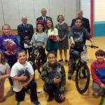 Nobleboro Central Students Win Bikes